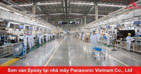 Thi công sơn sàn Epoxy tại nhà máy Panasonic Vietnam Co., Ltd