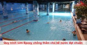 Quy trình sơn Epoxy chống thấm cho bể nước đạt chuẩn