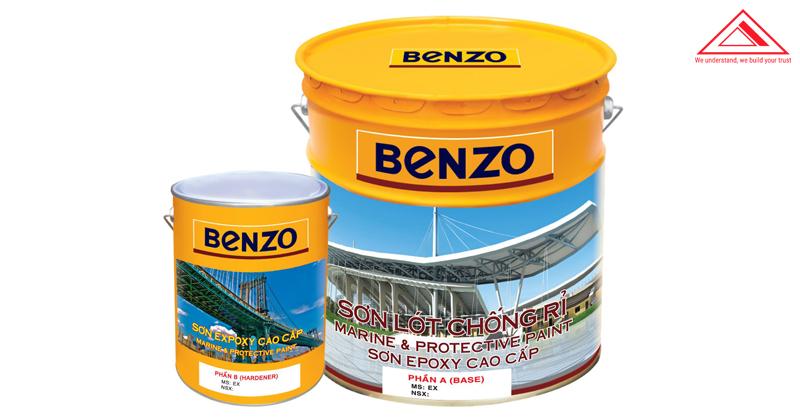 sơn epoxy benzo chống rỉ tiến bộ