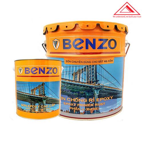 sơn epoxy benzo chống rỉ