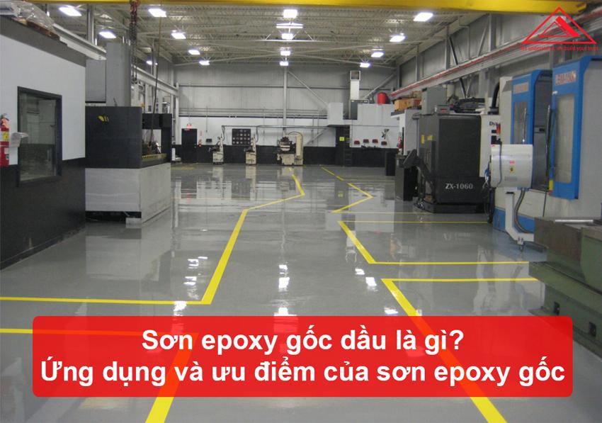 sơn epoxy gốc dầu là gì