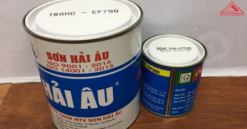 sơn epoxy hải âu tiến bộ