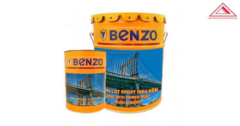 Sơn lót epoxy Benzo giàu kẽm EXZ678 tiến bộ