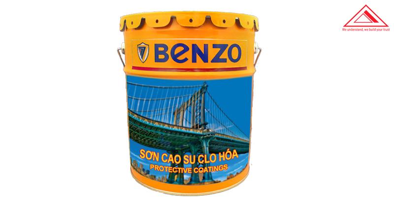 Sơn phủ epoxy benzo cao su Clo hóa CSN01 tiến bộ