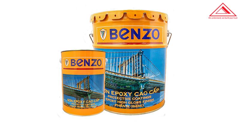 Sơn phủ epoxy Benzo màu sắc tiến bộ