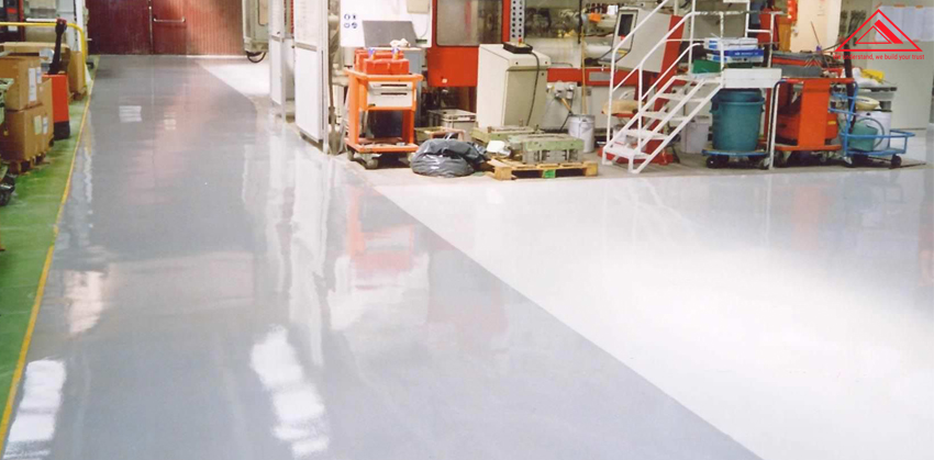 ưu nhược điểm sơn nền epoxy gốc dầu